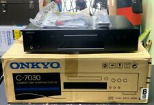 Onkyo C-7030 Cd Player (single disc), in original box w/ remote (Spg040343)