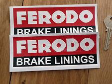 FERODO GUARNIZIONI MOTORE RACING SPONSOR ADESIVI
