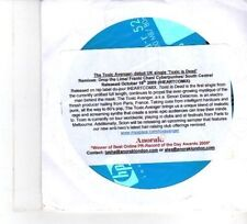 (DW394) The Toxic Avenger, Toxic is dead - 2009 DJ CD