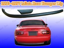 1990 1991 1992 1993 1994 1995 1996 1997 Mazda Miata MX-5 Rear Bumper Lip Spoiler