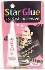 STAR GLUE EYELASH ADHESIVE GLUE FOR FAKE EYELASHES CLEAR 7g 0.1/4oz