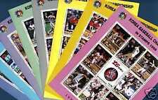 NICARAGUA 1995 série BASE BALL 72 valeurs cote 108€ YV!