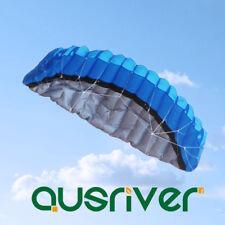 2.5M Dual Line Surfing Kite Waterproof Power Kite Parafoil Kite Flying Ripstop