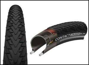 "Continental Reifen Conti Contact Cruiser Draht 26 x2.00"", schwarz/schwarz Reflex"