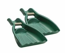 Leaf Scoops & Claws Sturdy Ergonomic Grip, Large Hand Held Garden Rake Grabbers