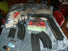 Tyco Vintage 1970's Slot Race Track Set With 3 Cars Complete With Figure 8 Track