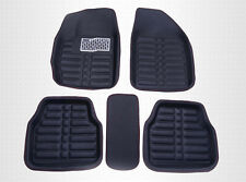 5X Universal Black Car Floor Mats FloorLiner Front&Rear Carpet All Weather Mat