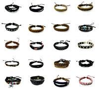 Real Leather Surfer Bracelet Unisex Retro Fashion Wristband, buy 2 get 1 free!