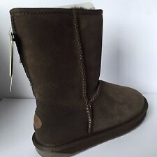 GENUINE EMU STINGER LO SHEEPSKIN BOOTS SIZE 3 EU 35/36 MODEL W10002 £65