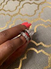 Ring Set Silver Wedding