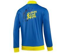 nwt~Adidas BRAZIL Track-jersey Top sweat shirt RIO World Cup Jacket~Mens size XL
