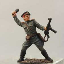 Painted Tin Toy Soldier Red Army Footman #5 54mm 1/32