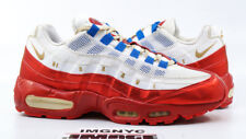 NIKE AIR MAX 95 DOERNBECHER USED SIZE 9.5 WHITE METALLIC GOLD COIN 507450 180