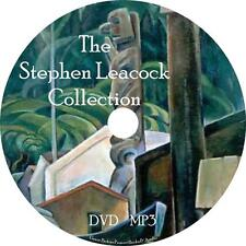 Stephen Leacock Audio Book Collection on 1 MP3 DVD Humor Fiction Town FREE SHIP