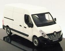 RENAULT MASTER TOLE 2014 WHITE NOREV 518782 1/43 WEISS BIANCA BLANC UTILITAIRE