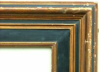 "FRAME NEWCOMB MACKLIN MASSIVE BLACK/GOLD MUSEUM QUALITY LARGE FITS 61.5"" x 41.5"""