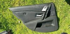 BMW E60 E61 M5 full Leather Stitch L&R rear door cards for speakers logic 7