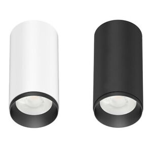 10W Surface Mount LED Cylinder/Can Downlight 3K-Black or White&Black Trim CUSP 2