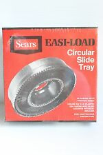 Vintage Sears Easi-Load Circular Slide Tray in Album NEW Holds 100 Slides