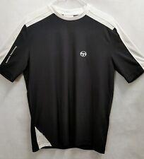 Sergio Tacchini T-Shirt Men's Size LARGE Italy Navy/ White