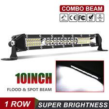 "Ultra-thin 544W 10inch Slim Led Light Bar Flood Spot Combo Offroad SUV 12"""