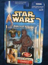 Star Wars 2002 SAGA Collection Chewbacca with Electronic C-3PO # 38