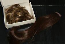 Raquel Welch Hair Piece dk brown pony tail clip r8 & Bun curly short piece