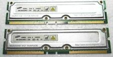 RDRAM 256 MB (2 x 128 mb) Samsung 0404h 128Mb  /8 MR16R08288N1-CK8 800-45 101