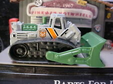 2019 WILDFIRE RESCUE Design BULLDOZER☆gray; green ☆Matchbox LOOSE