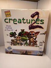 Creatures 2 (PC, Mindscape, 1998) Vintage Big Box Windows 95/98