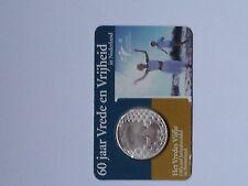 ** Coincard 2005 60 jaar Vredes Vijfje 5 euro Nederland Niederlande van KNM**