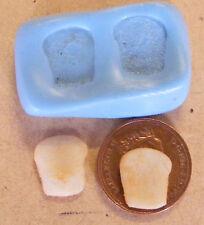 1:12 Reutilizable Pan Tostadas Slice Molde-Molde De Casa de muñecas en miniatura de comida Accesorio