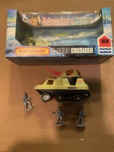 Matchbox Adventure 2000 Crusader K-2003 - Vintage 1977 Diecast Mint In Box
