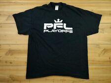 PFL Playoffs MMA T Shirt Black Gildan XL 2019 Las Vegas