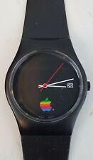 Apple Computers Rainbow Mens wrist watch Sharp Original vintage Runs Nice NOS?