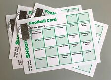 More details for 20 team football fundraising money charity event pub fete scratch cards