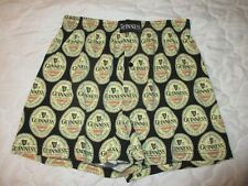 New listing Mens Guinness Extra Stout Beer Boxer Shorts Beer Label Logo Medium
