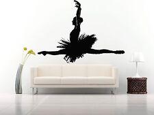 Wall Room Decor Art Vinyl Sticker Mural Decal Ballet Dance Women Ballerina FI350