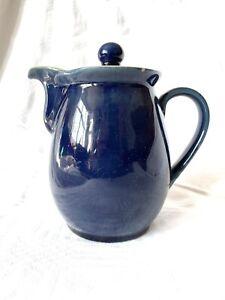 Denby Cottage Blue 1 Pint Jug With Lid