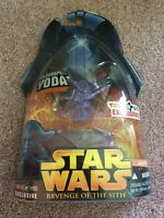 Star Wars Revenge Of The Sith Holographic Yoda Toys R Us Exclusive Figure