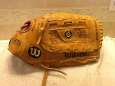 "Rare Wilson DFS A2054 13.25"" Baseball Softball Glove Right Handed Thrower"
