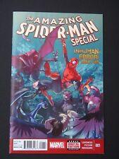 Inhuman Error #1,2,3 Spider-man Capt America Inhumans Lot of 3 NM High Grade