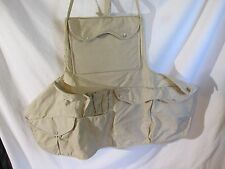 VINTAGE-FLY Fishing BIB APRON **ADULT**Tackle Carry Mens Womans  Lot # 17