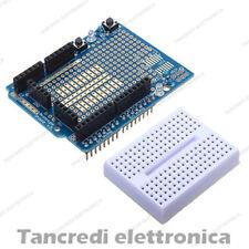 Scheda Arduino UNO proto shield V5 Adattatore con Breadboard 170 contatti PCB