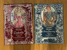 Peck Gandre Enchanted Forest Prince Charming Cinderella Paper Dolls1987