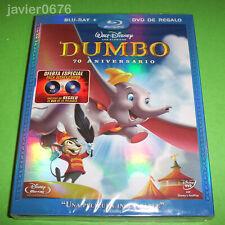 DUMBO CLASICO DISNEY NUMERO 4 COMBO BLU-RAY + DVD NUEVO Y PRECINTADO