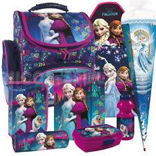 Frozen Anna und Elsa Schulranzen Tornister Ranzen Set Schultüte Bastelschürze