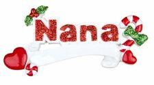 PERSONALIZED CHRISTMAS ORNAMENT FAMILY-NANA