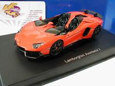 "AUTOart 54652 - Lamborghini Aventador J Roadster Bj. 2012 "" orangemetal. "" 1:43"