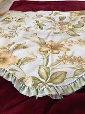 "Williamsburg Magnolia ""Waverly"" Valance # 2/Scalloped/100% Cotton Pique/Unused"
